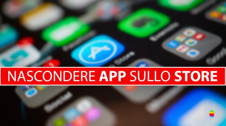 Come nascondere App scaricate su iPhone, iPad e Mac