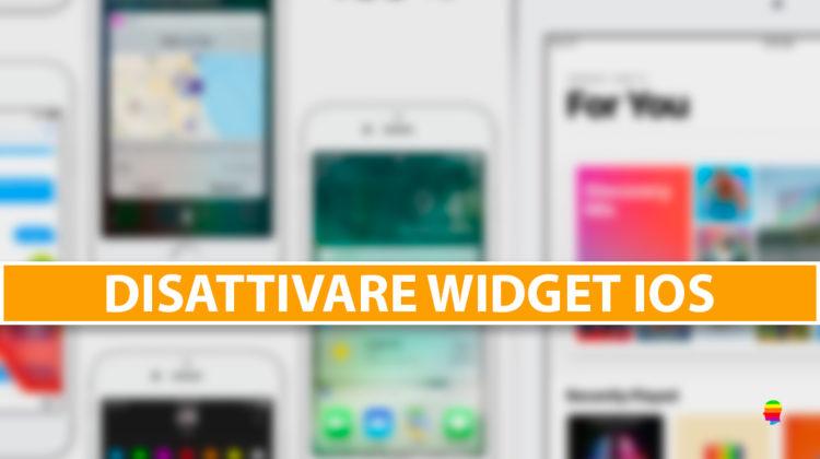 Come rimuovere i widget iOS da iPhone e iPad