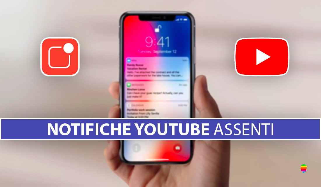 Non ricevo notifiche YouTube su iPhone e iPad