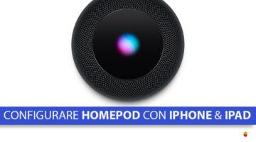 Come configurare HomePod con iPhone e iPad