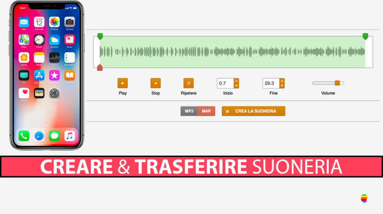 Creare e trasferire suonerie su iPhone con Mac e PC Windows