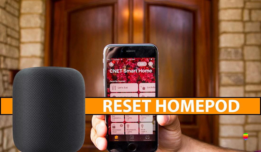 Ecco come fare il Reset di HomePod, inizializzare impostazioni di fabbrica