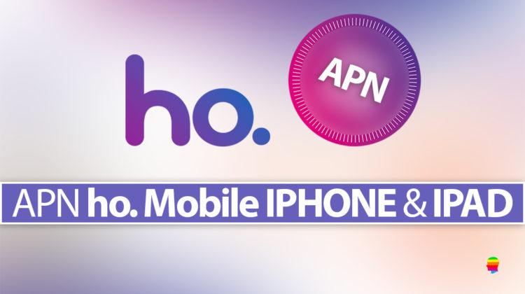 Configurare APN operatore ho. Mobile su iPhone e iPad