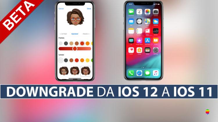 Rimuovere beta pubblica iOS 12 da iPhone e iPad, effettuare Downgrade