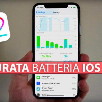 iOS 12: Migliorare durata batteria su iPhone e iPad