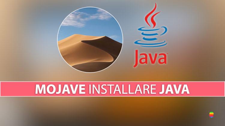 Scaricare e Installare Java su macOS Mojave 10.14