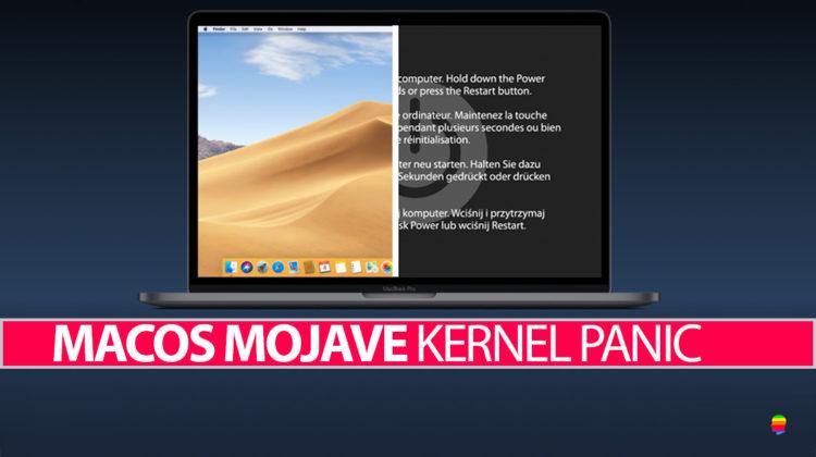 Kernel Panic dopo Aggiornamento a macOS Mojave 10.14