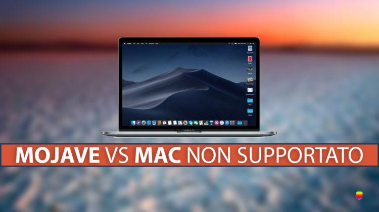 Installare macOS Mojave 10.14 su Mac non supportato