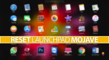 Resettare il Launchpad su macOS Mojave 10.14