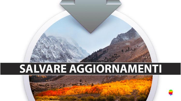 Scaricare aggiornamenti macOS senza installare con il Terminale