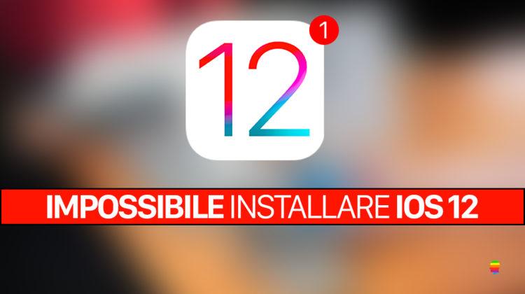 """Le varie Soluzioni proposte in questa guida aiuteranno alla risoluzione del messaggio di errore di """"Impossibile installare iOS 12"""" su iPhone e iPad."""