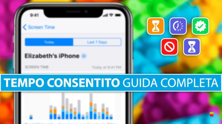 iOS 12: Come funziona Tempo consentito su iPhone e iPad (Guida completa)