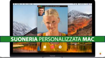 FaceTime, cambiare e usare suoneria personalizzata su macOS