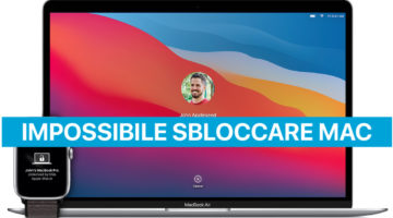 Impossibile sbloccare Mac con Apple Watch