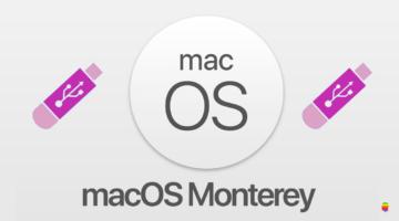 Come creare chiavetta pendrive USB d'installazione di macOS 12 Monterey