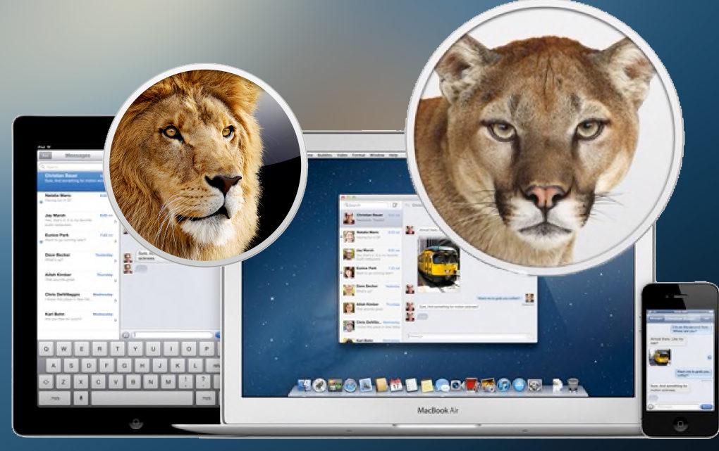 Link diretti per scaricare OS X Lion 10.7 e OS X Mountain Lion 10.8