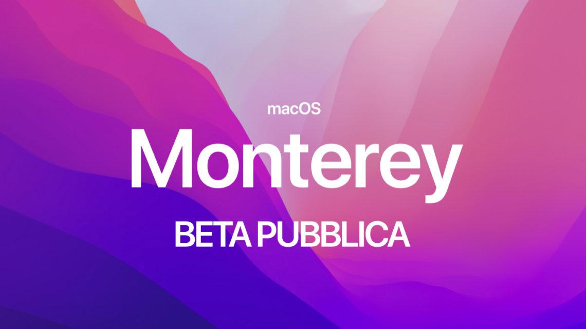 Scaricare Beta Pubblica di macOS 12 Monterey